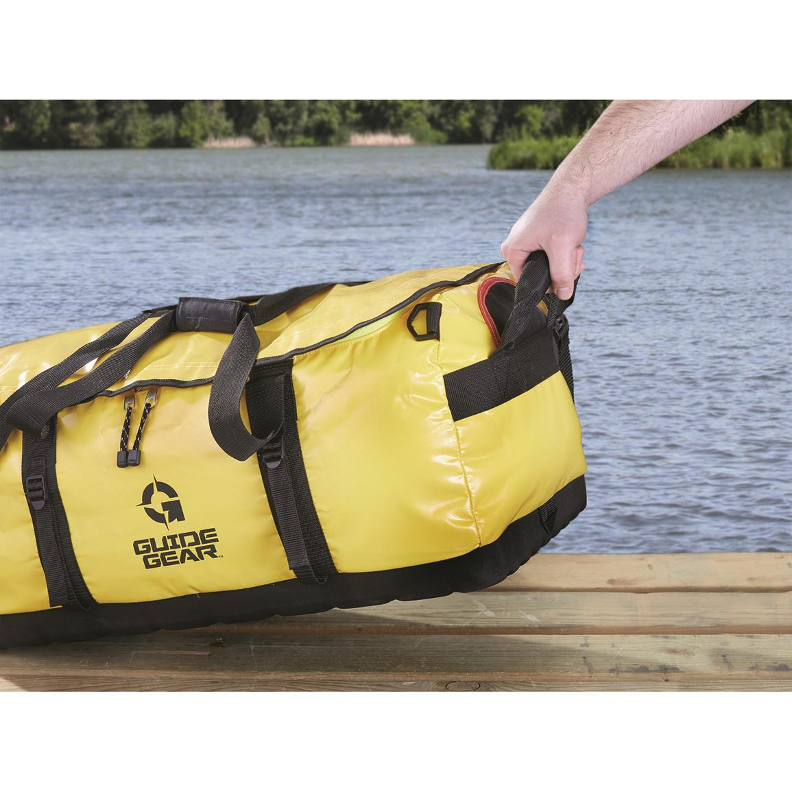 Waterproof-Floating-Duffel-Bag-Boat-Canoe-Kayak-Jet-Ski-Large-Dry-Pack-Sports thumbnail 3