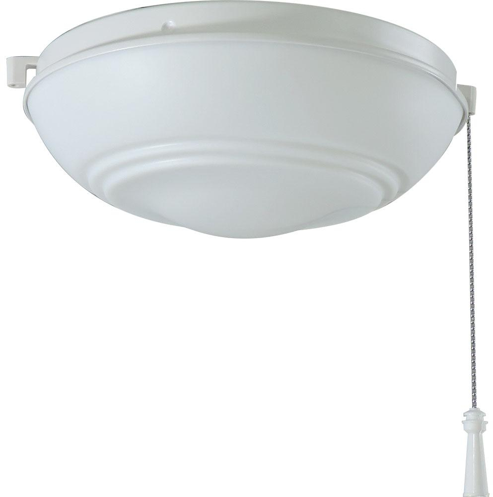 Details About Hampton Bay Ceiling Fan Light Kit Led White Indoor Outdoor Lighting Fixture Home