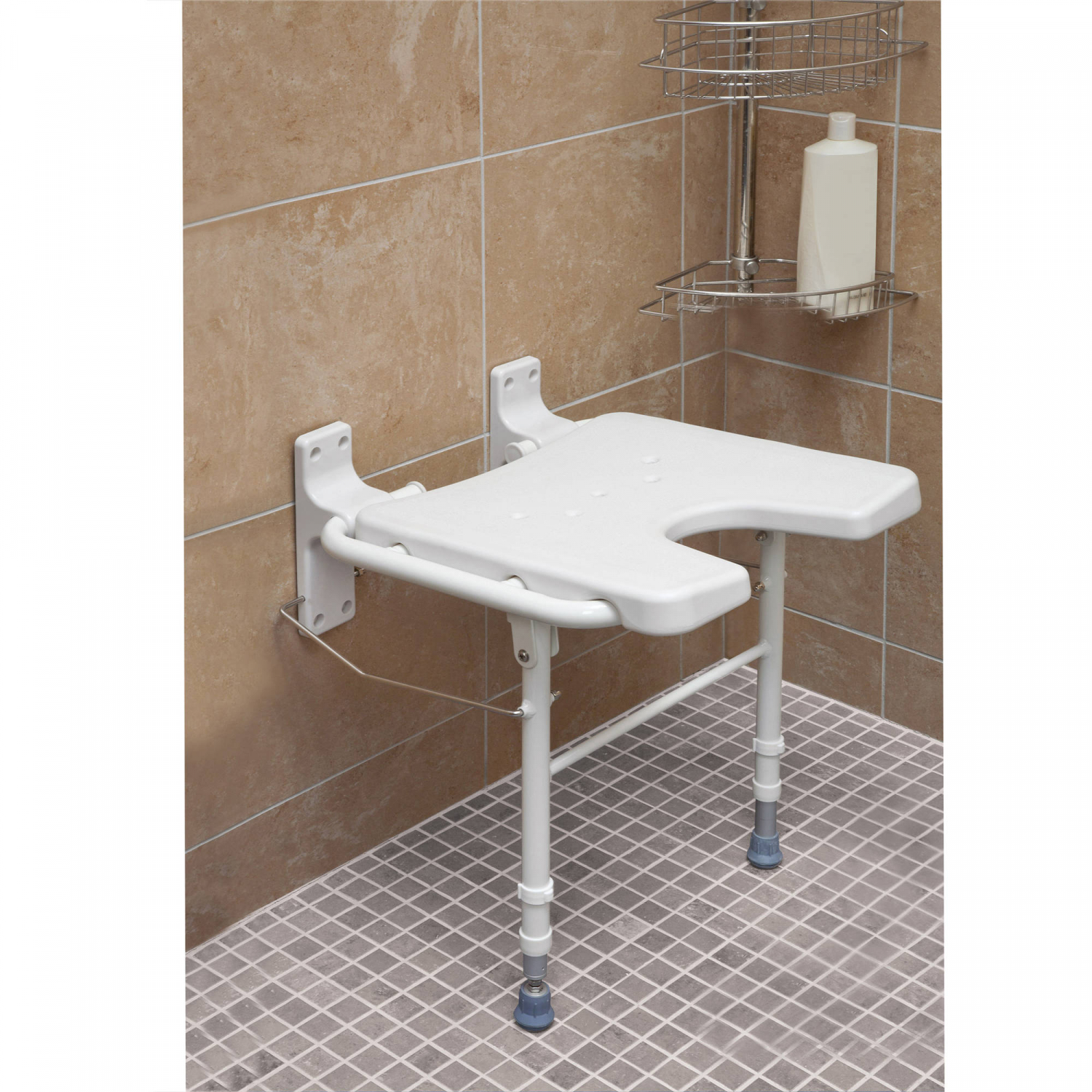 Details About Handicap Shower Seat Folding Safety Bench For Elderly Wall Mount Tub Chair Folds