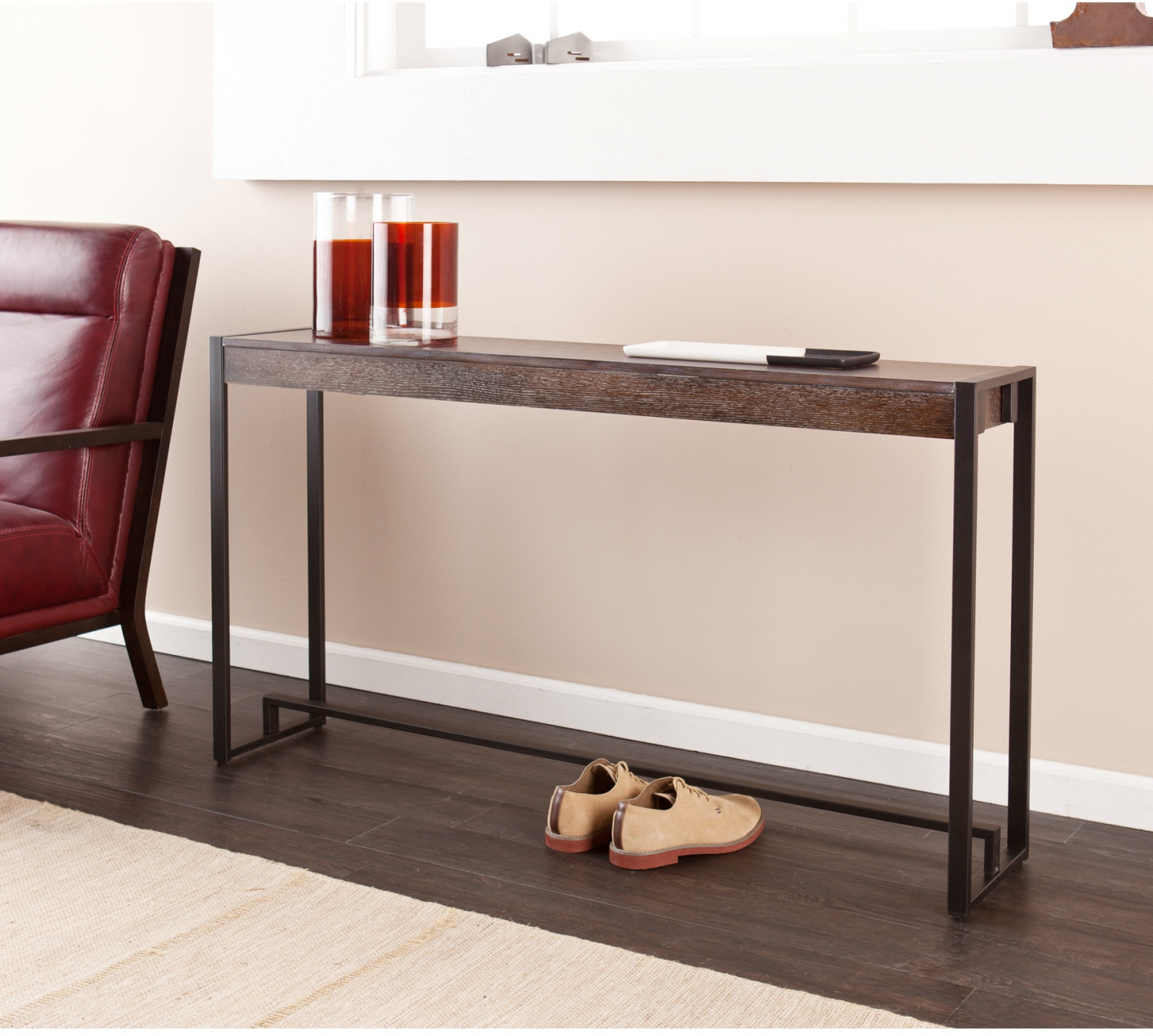 Long Narrow Console Entryway Sofa Table
