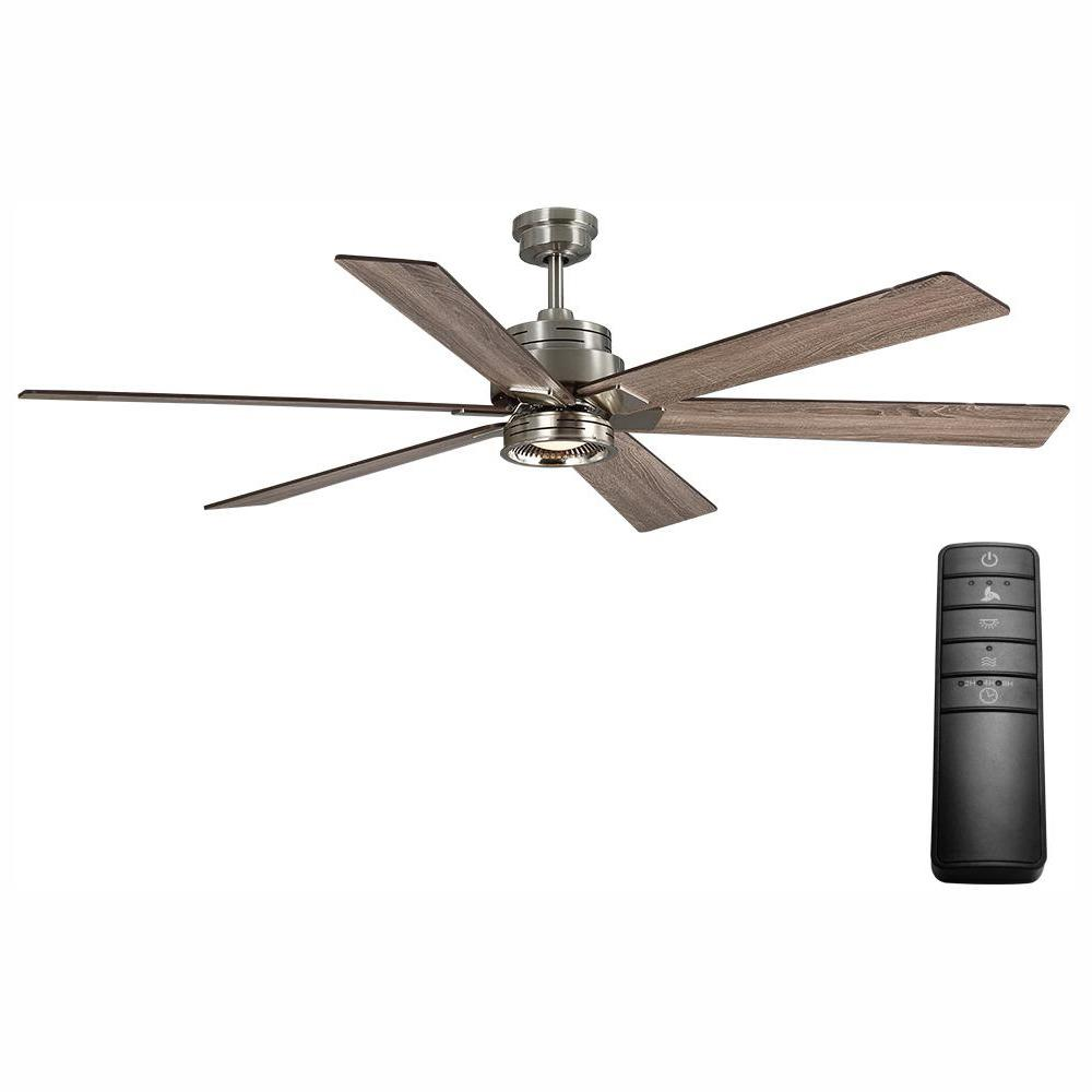 70 In Led Brushed Nickel Ceiling Fan