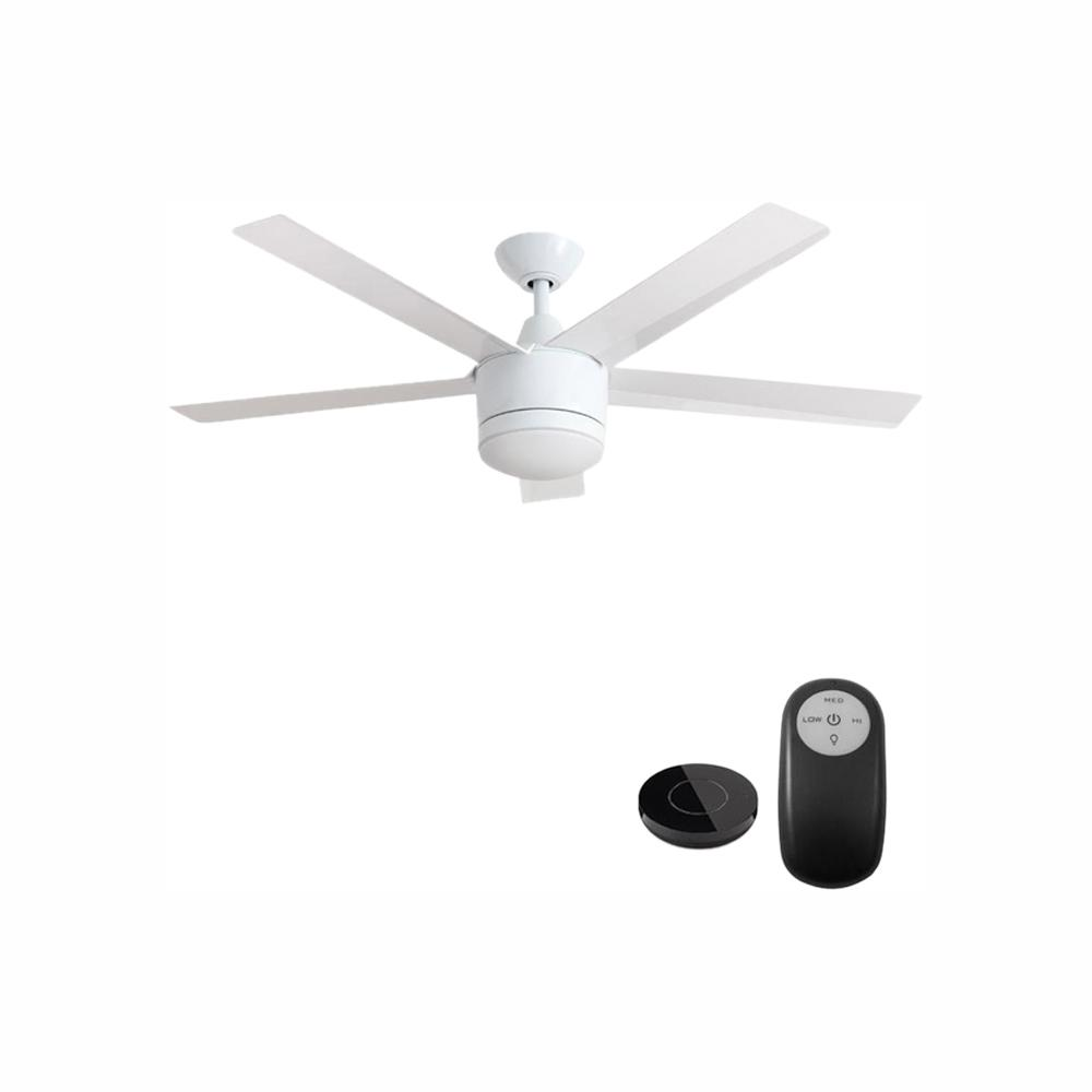 Integrated Led Indoor White Ceiling Fan