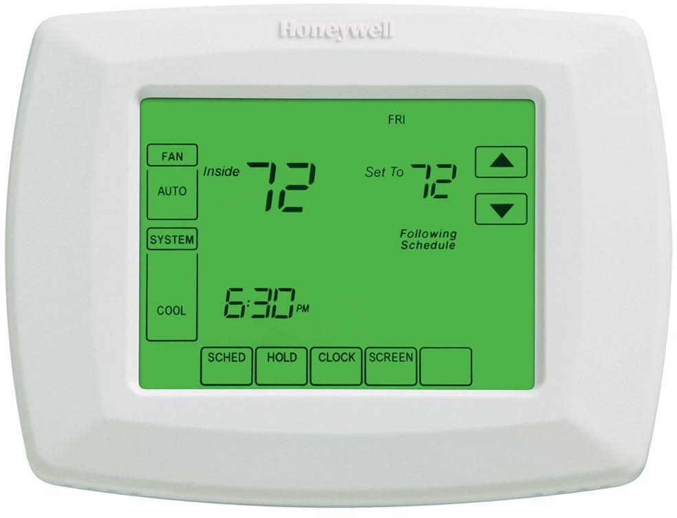 Details about Honeywell Universal Touchscreen Thermostat 7-Day Programmable  Manual Control