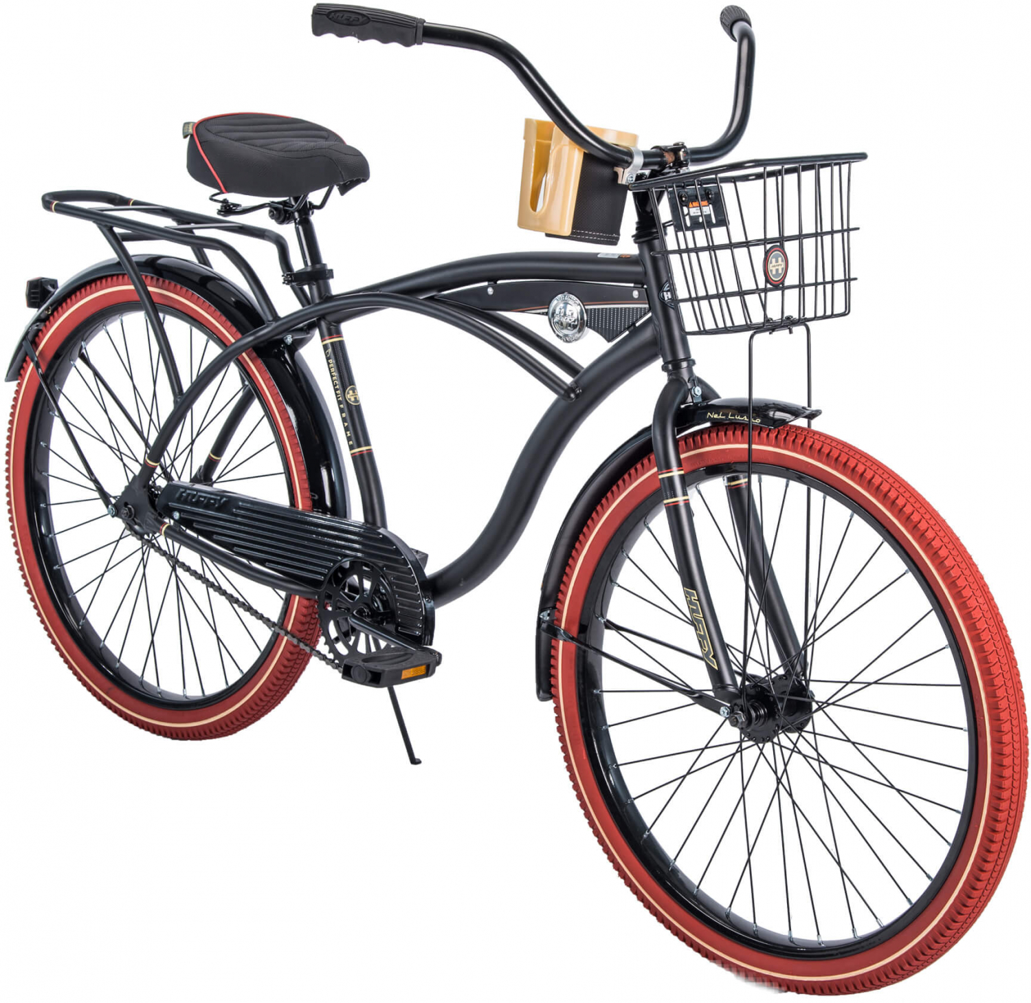 "Huffy 26/"" Nel Lusso Cruiser Perfect Fit Frame Men/'s Bike Beach Bicycle Outdoor"