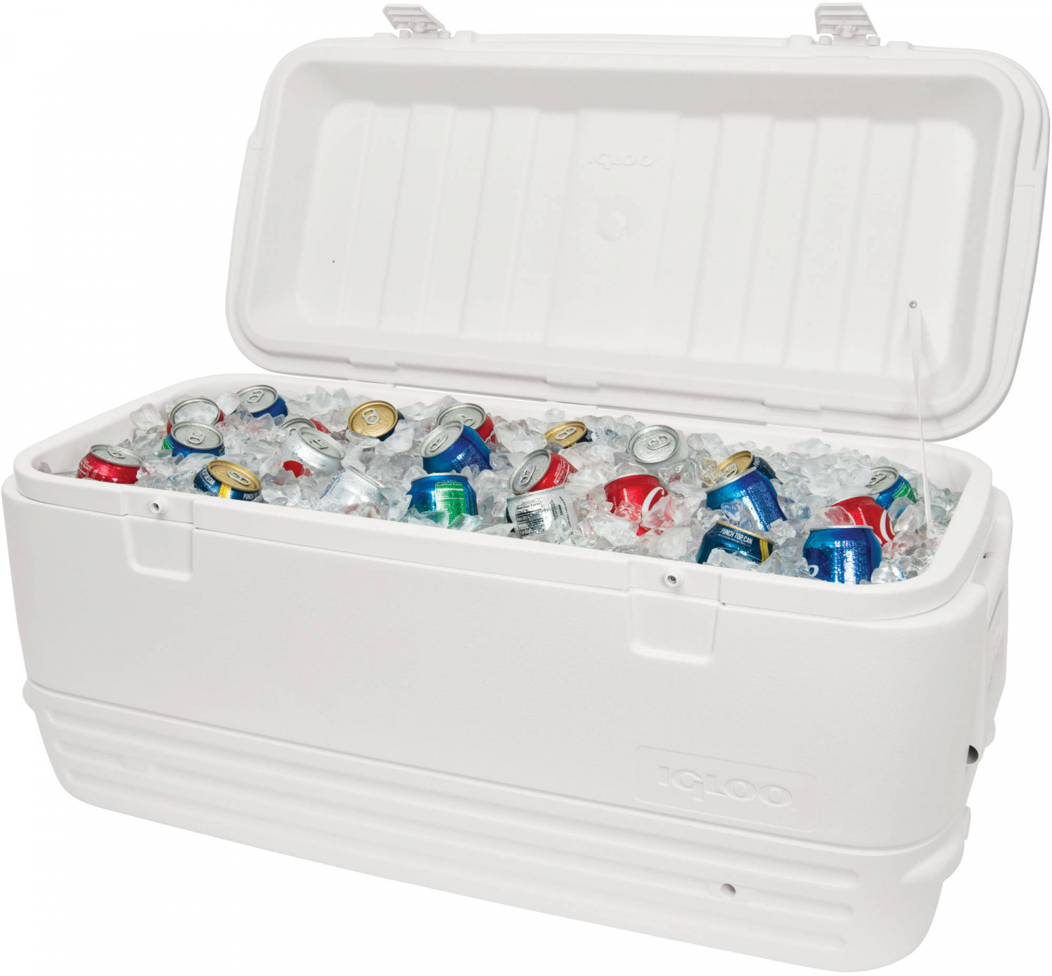 Large Igloo Cooler 120 Qt Quart Max Cold Ice Chest Insulated Marine Fishing