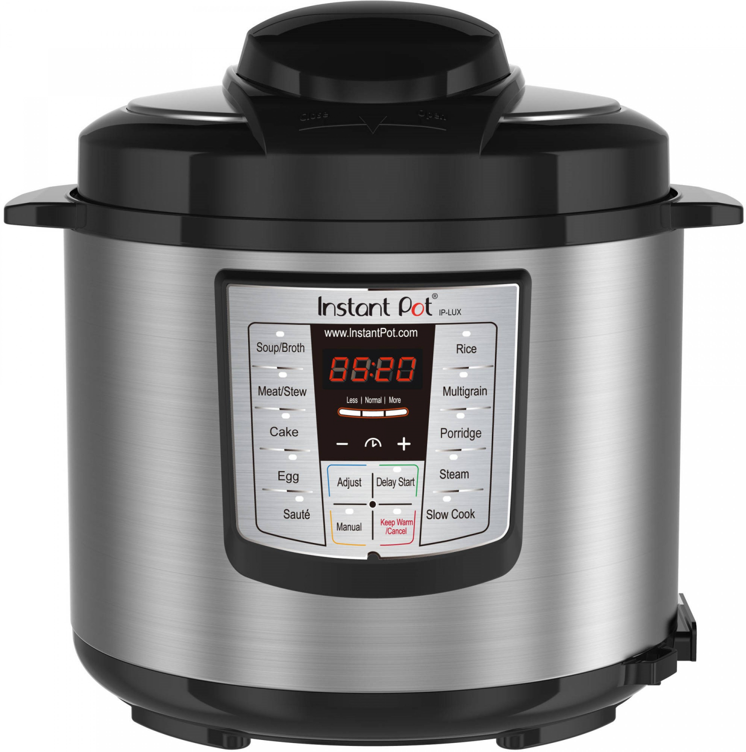 Instant Pot LUX60 V3 6 Qt 6-in-1 Muti-Use Programmable Pressure Slow Cooker