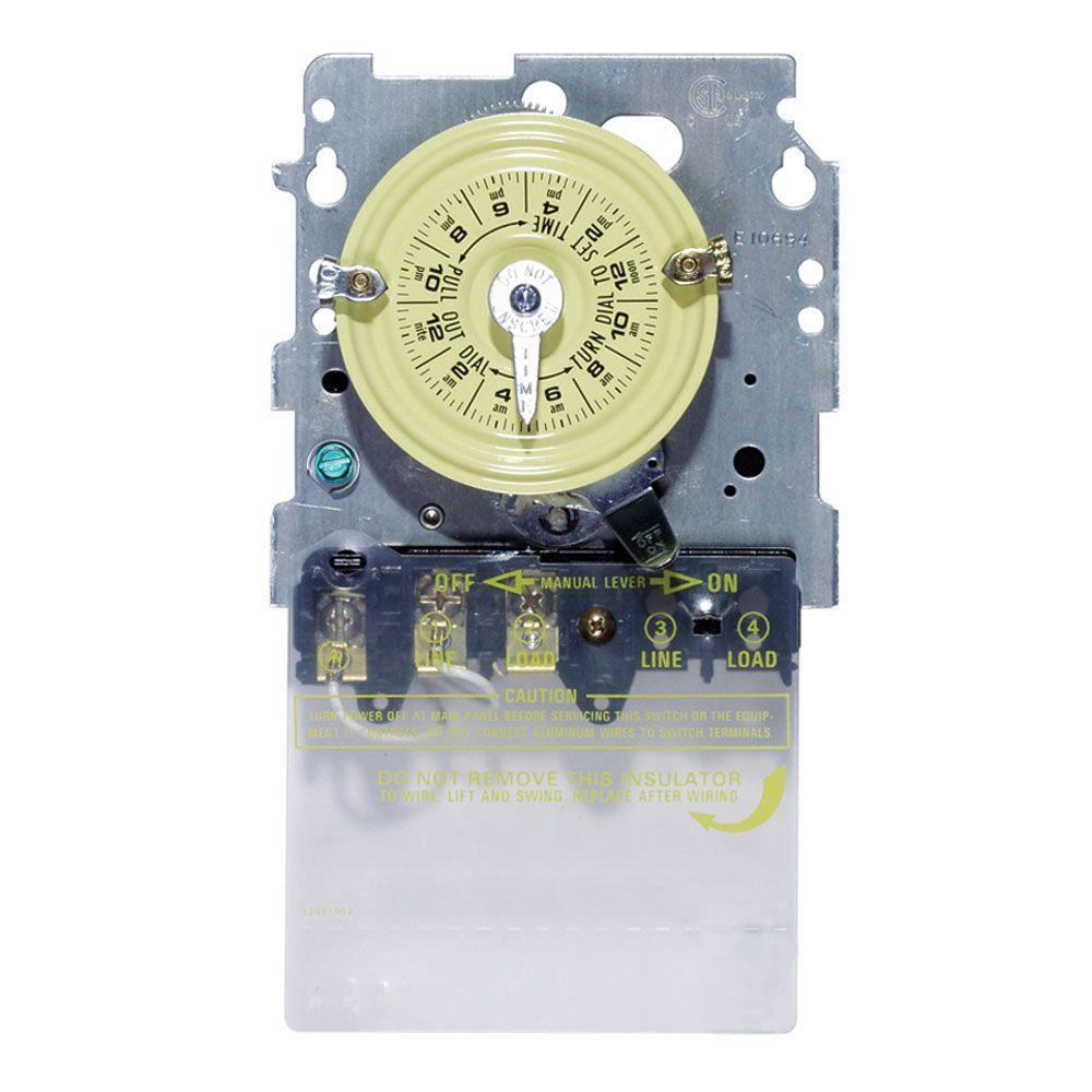 Details about Intermatic T104M 240 Volt Swimming Pool Pump Timer MECHANISM