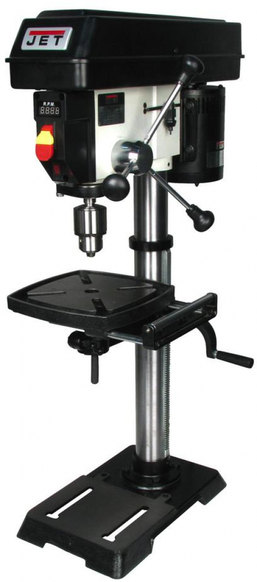 Details about JET 1/2 HP 12 in  Benchtop Drill Press, Variable Speed,  115-Volt, JWDP-12