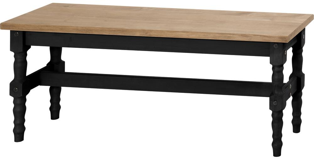 Details About Solid Wood Dining Bench 47.25 In. Parson Chair Slat Back  Black Wash Finish