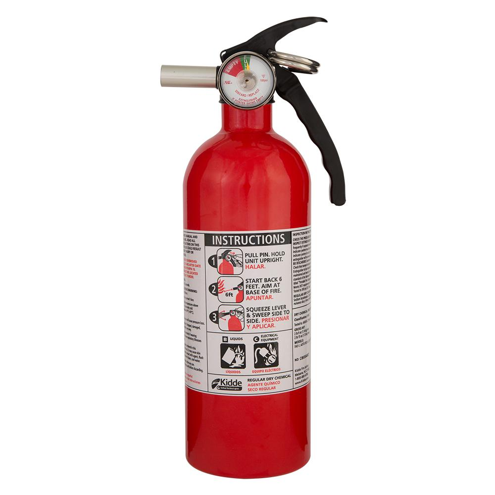 Details about Fire Extinguisher Protection 5-B:C Rated Disposable Liquid  Gas Electrical Fires