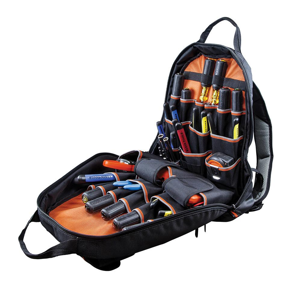 Details About Klein Tools 17 5 Tradesman Pro Tool Bag Gear Backpack Electrician Storage