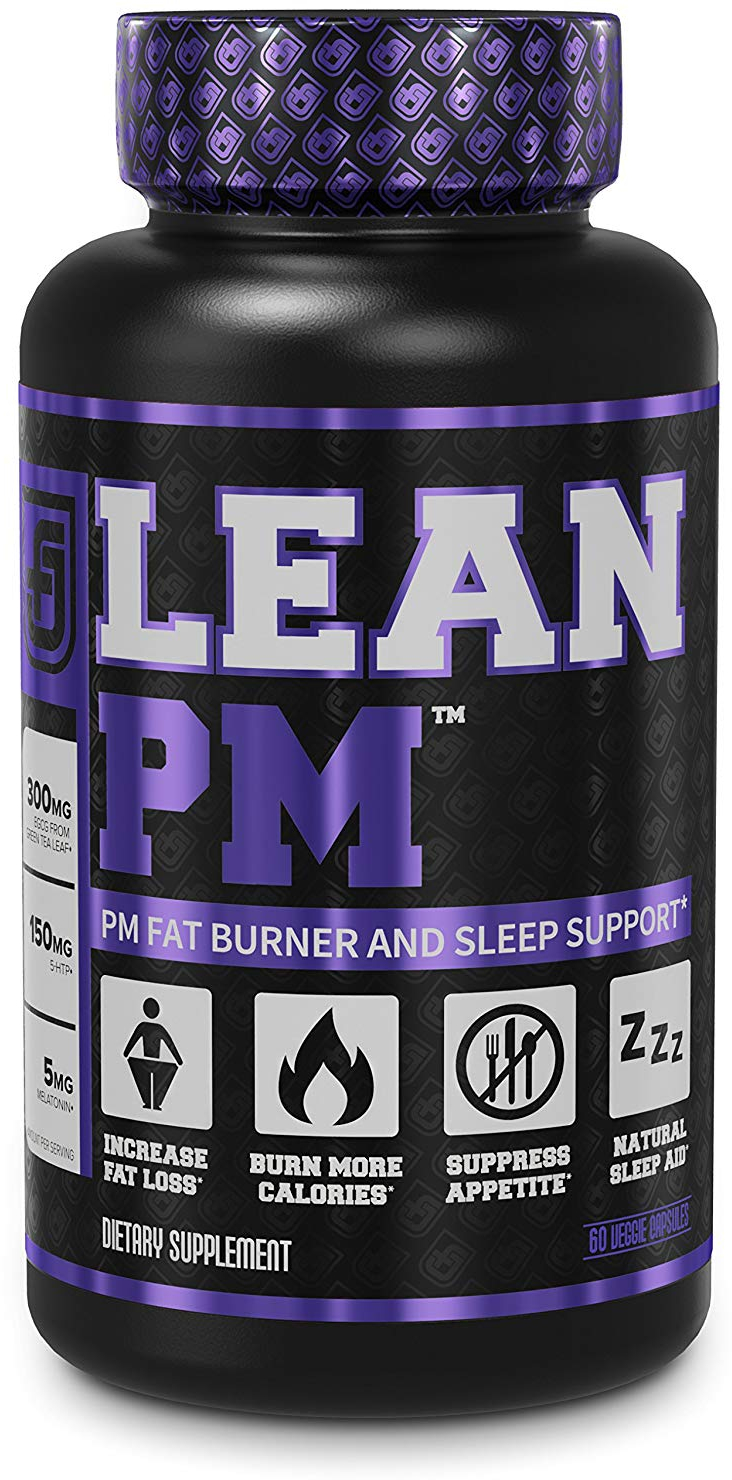 LEAN PM Night Time Fat Burner, Sleep Aid Supplement, And