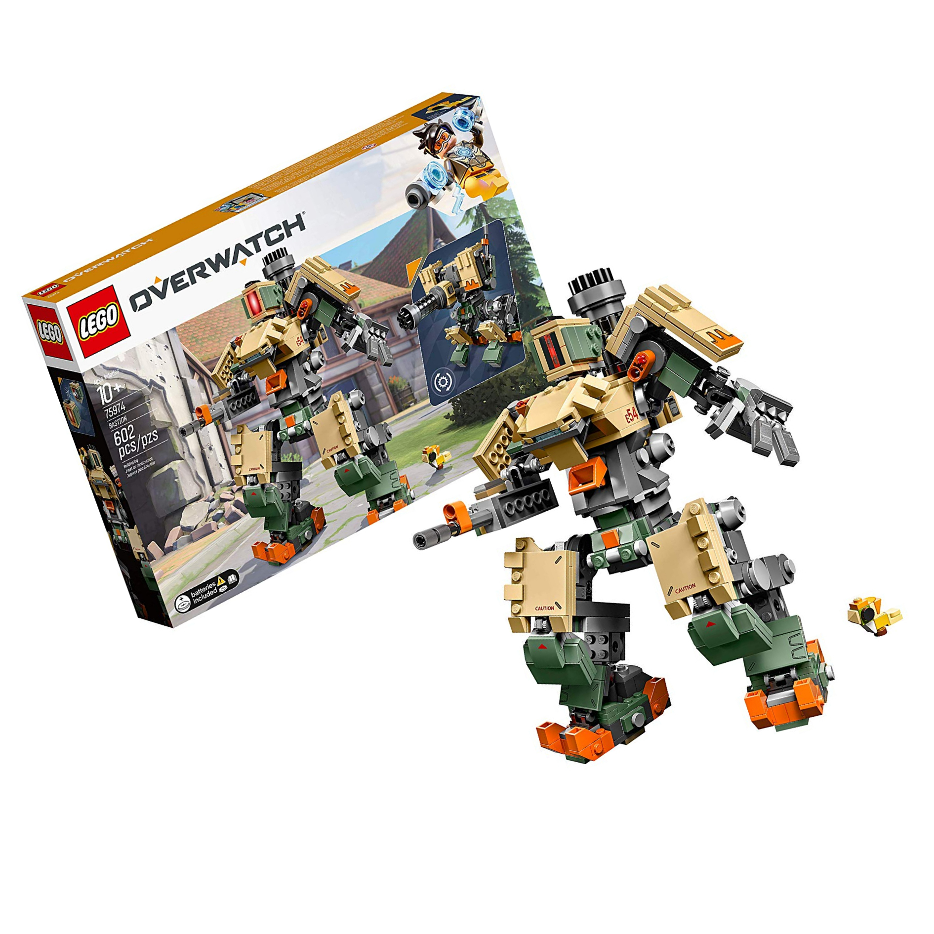 75974 BASTION lego NEW legos set OVERWATCH Ganymede ROBOT mech recon sentry mode