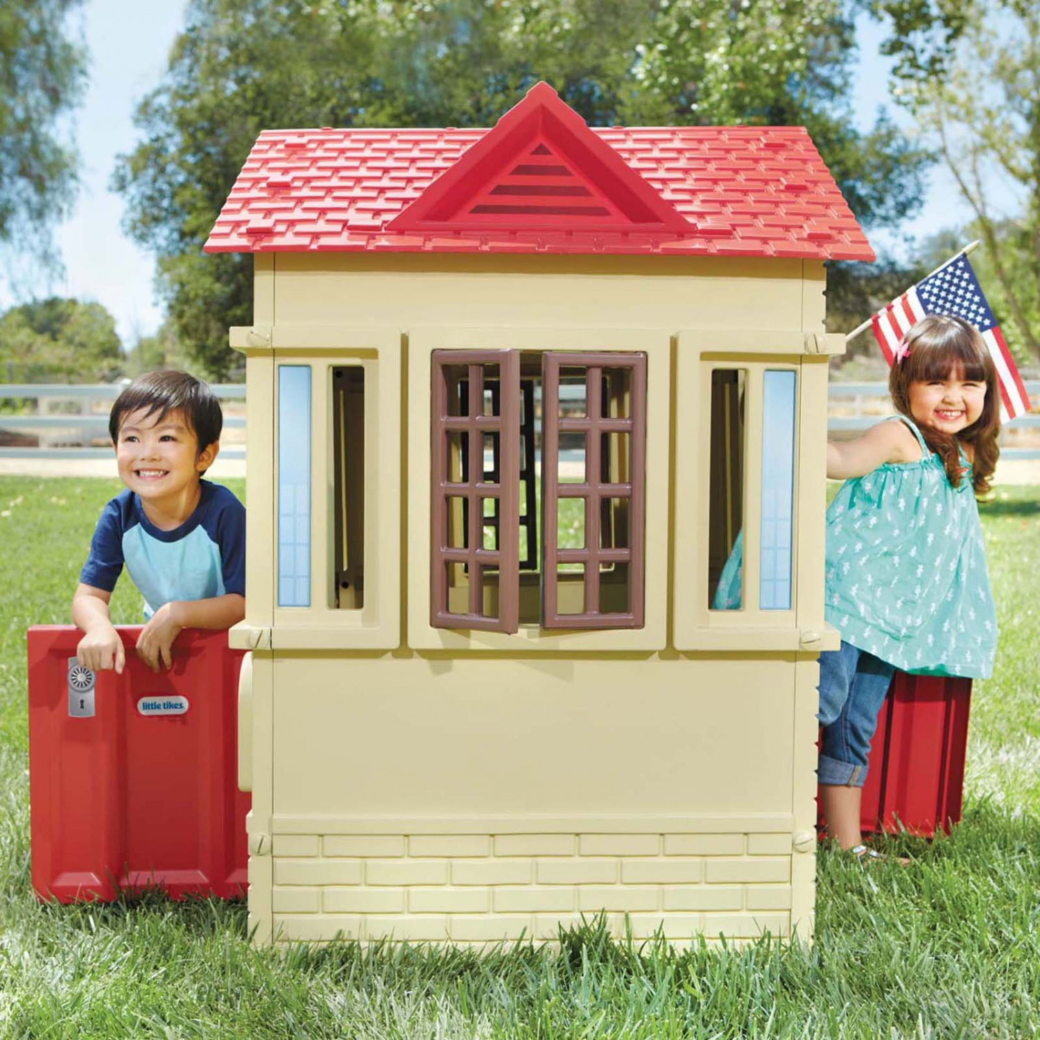 Little Tikes Cape Cottage Playhouse, Tan- Fort, Boy Or