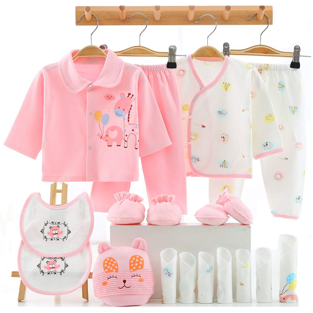 Lot Clothes For Girl Boy Baby Newborn 18Pcs 0-3 Months ...