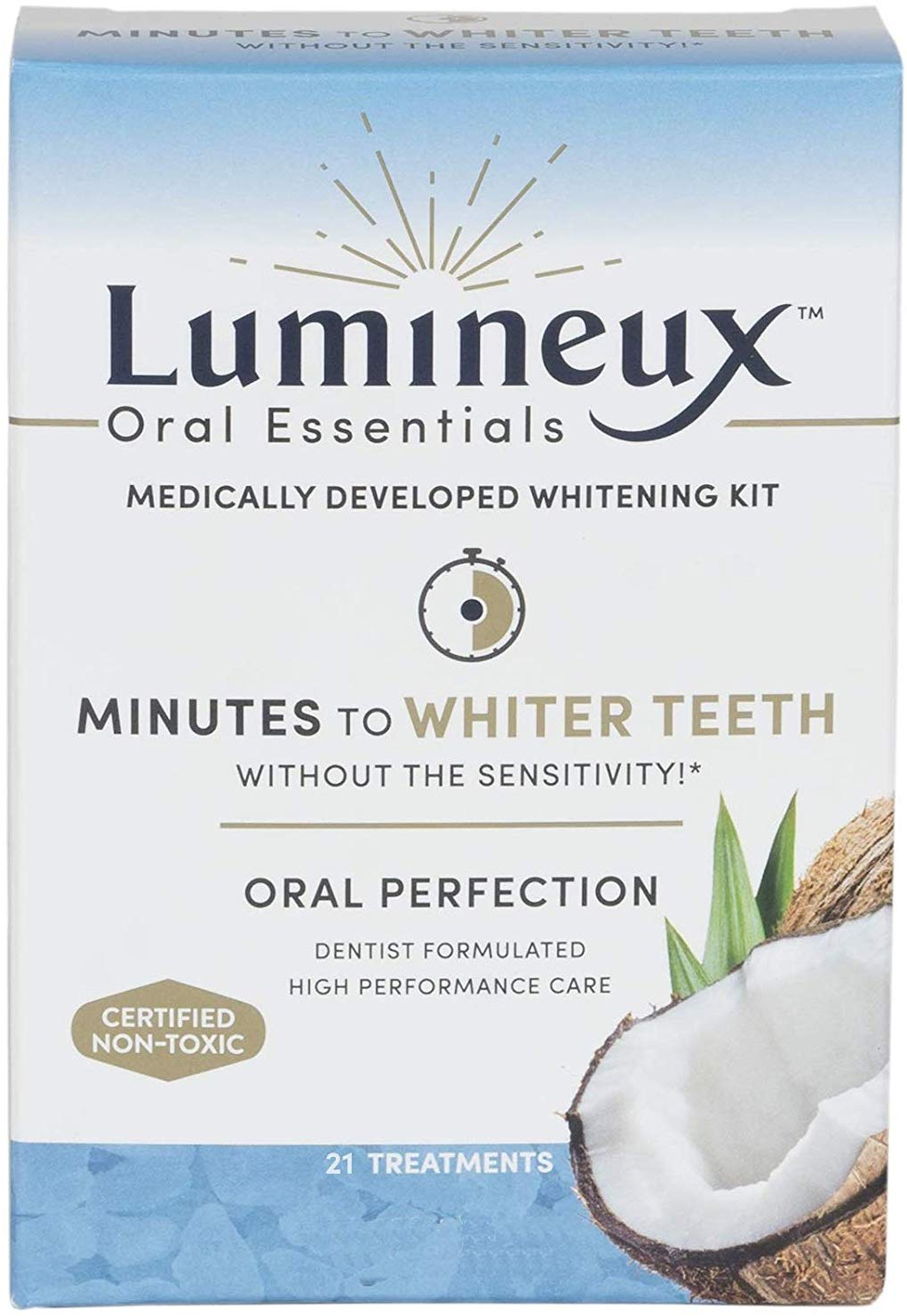 Lumineux Oral Essentials Teeth Whitening Strips 21 Treatments
