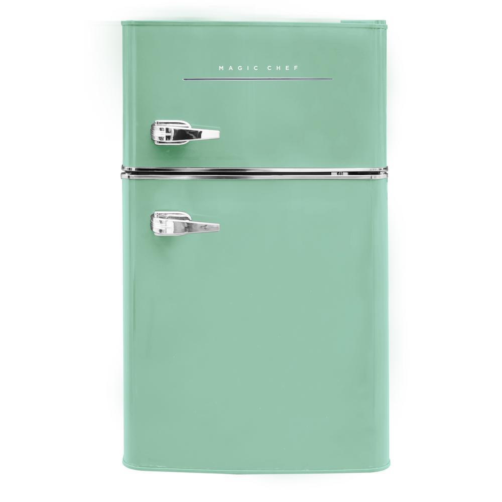 Mint Green Retro Compact Dorm Mini