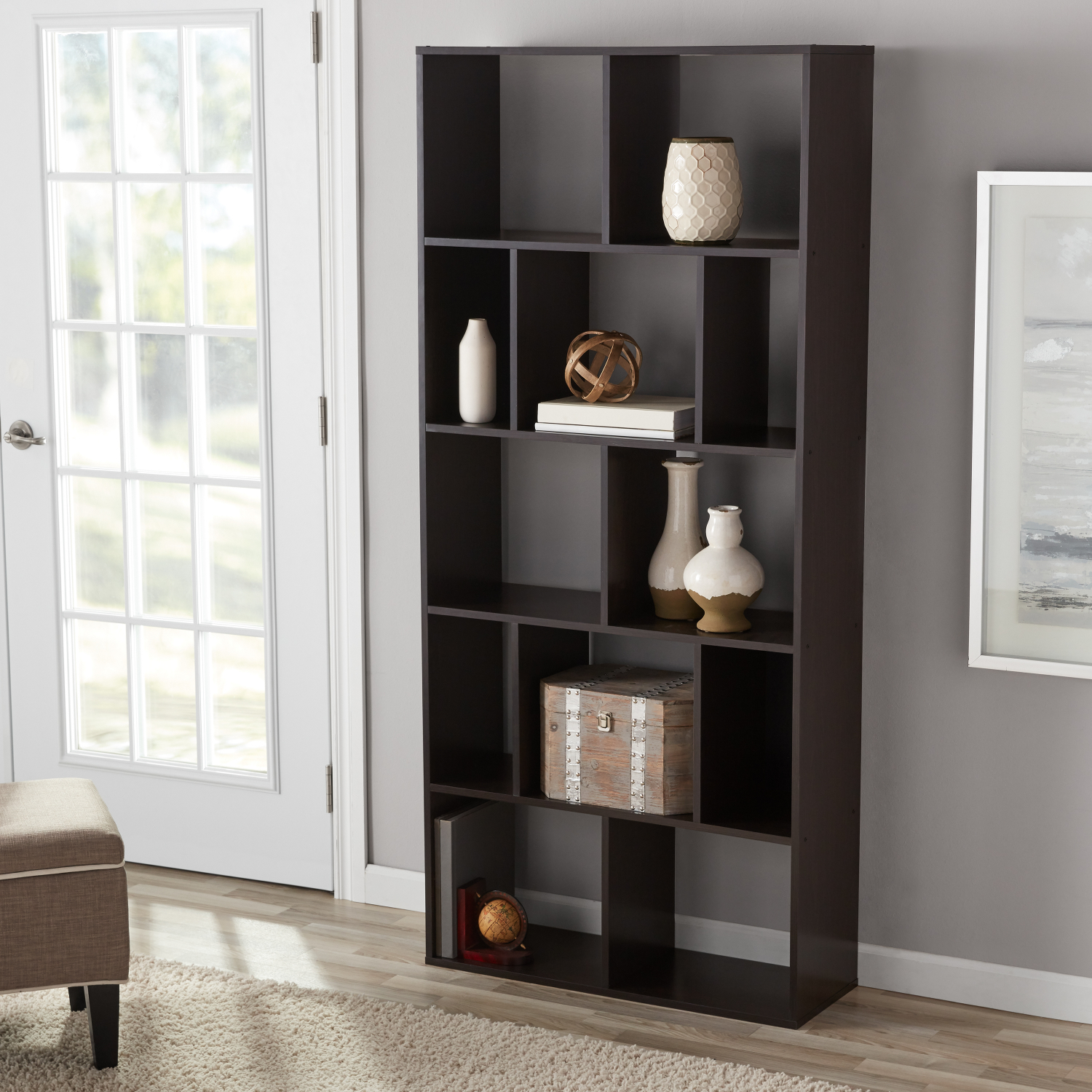 Cube Bookcase Storage Shelves Display Stand Book Shelves ...