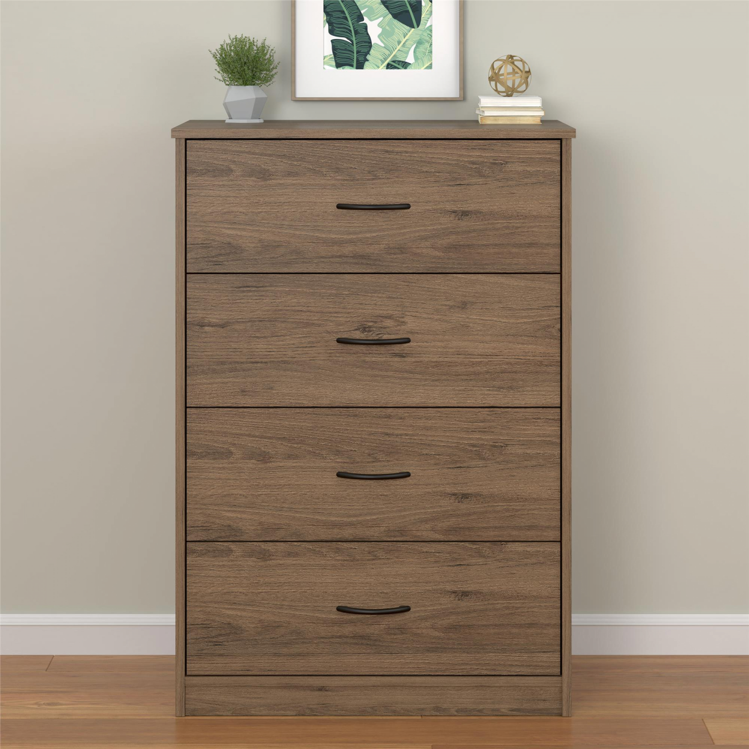 Details About 4 Drawer Dresser Chest Modern Bedroom Storage Wood Furniture 40 Tall 6 Colors