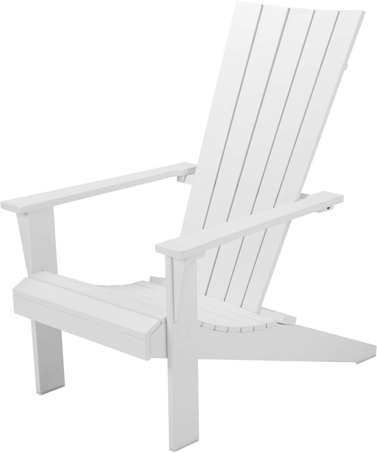 Outdoor Patio Wooden Adirondack Chair Lounge Deck Porch