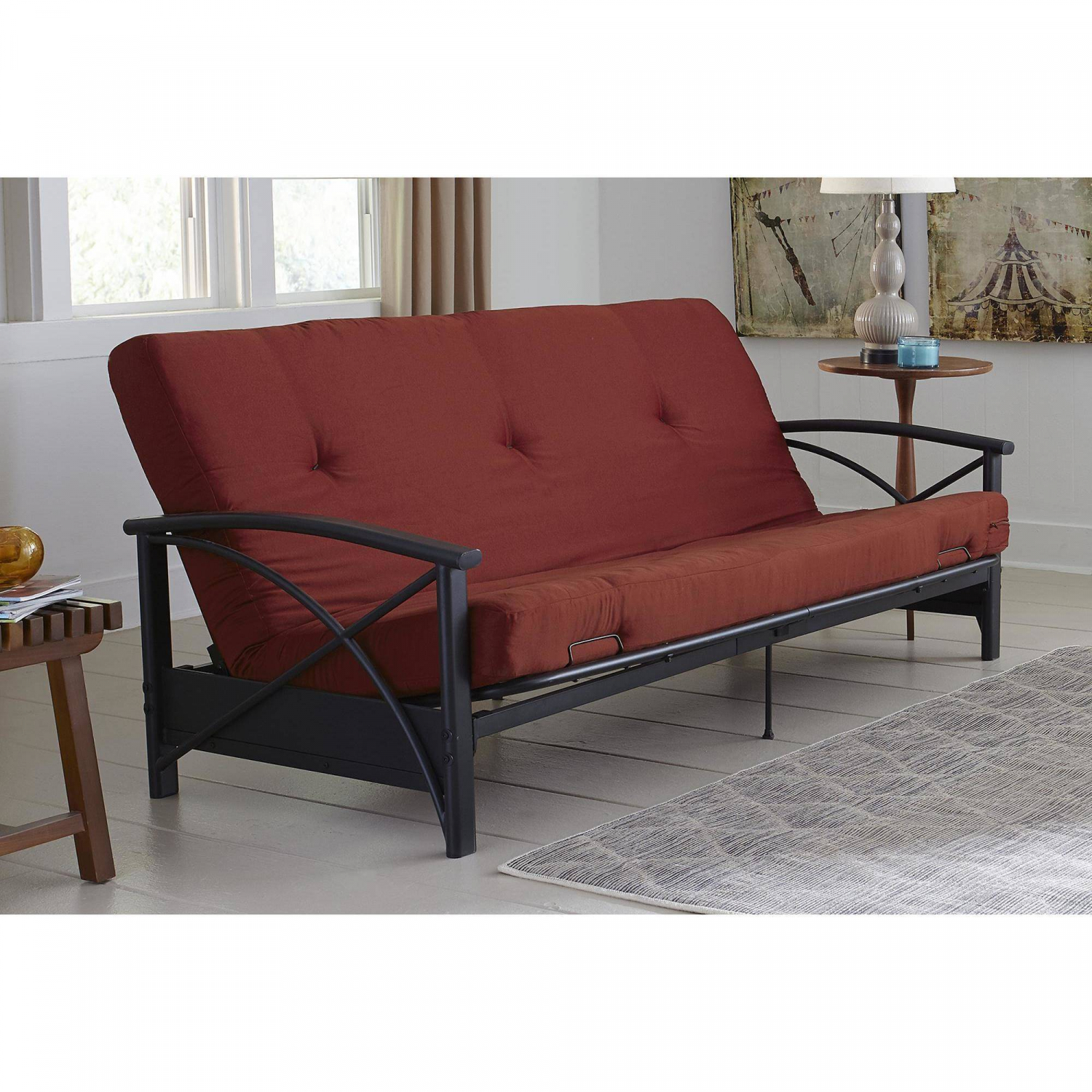 6 INCH FUTON MATTRESS Guest Spare Room Sofa Bed Full Size ...