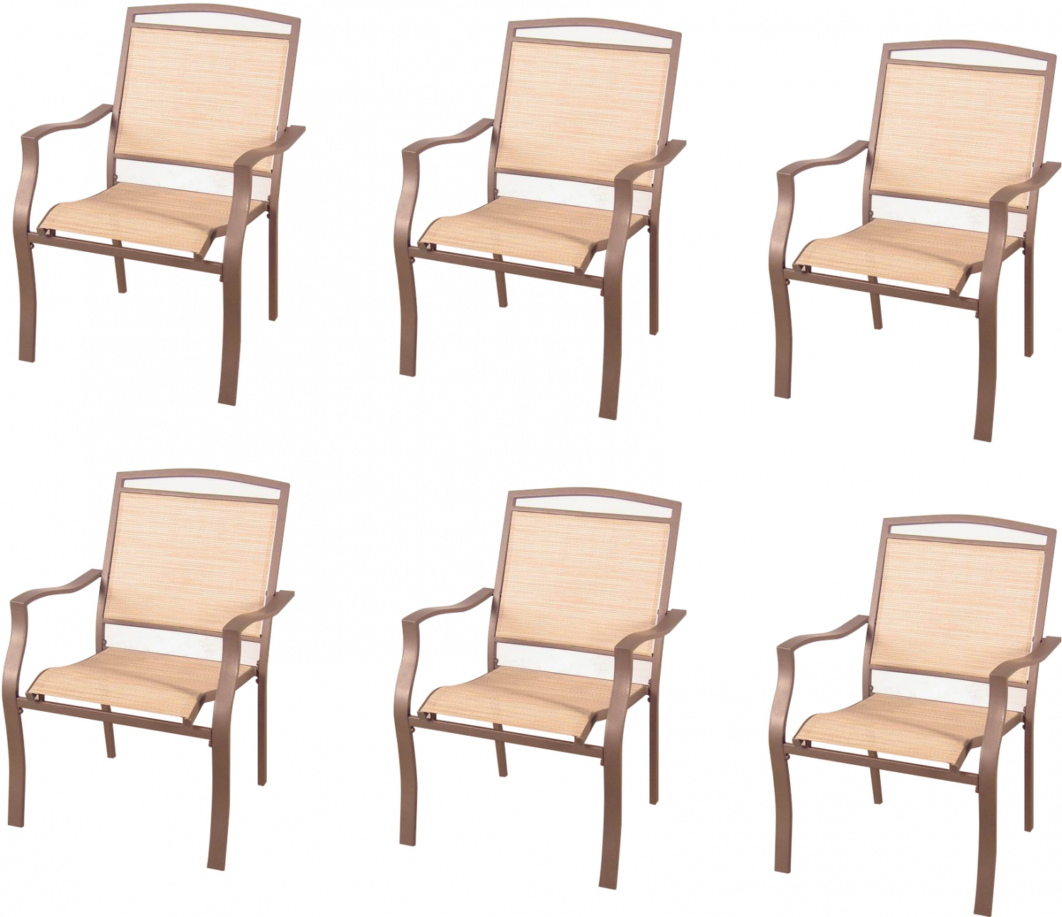 Strange Details About Mainstays Sand Dune Dining Chairs Set Of 6 Gamerscity Chair Design For Home Gamerscityorg