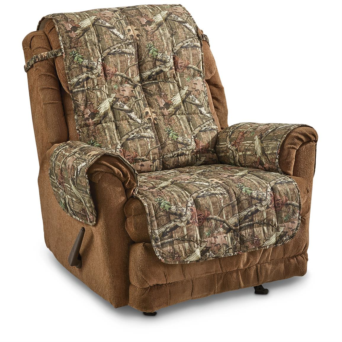 Details About New Universal Mossy Oak Camo Furniture Covers For Chair Sofa Recliner Loveseat