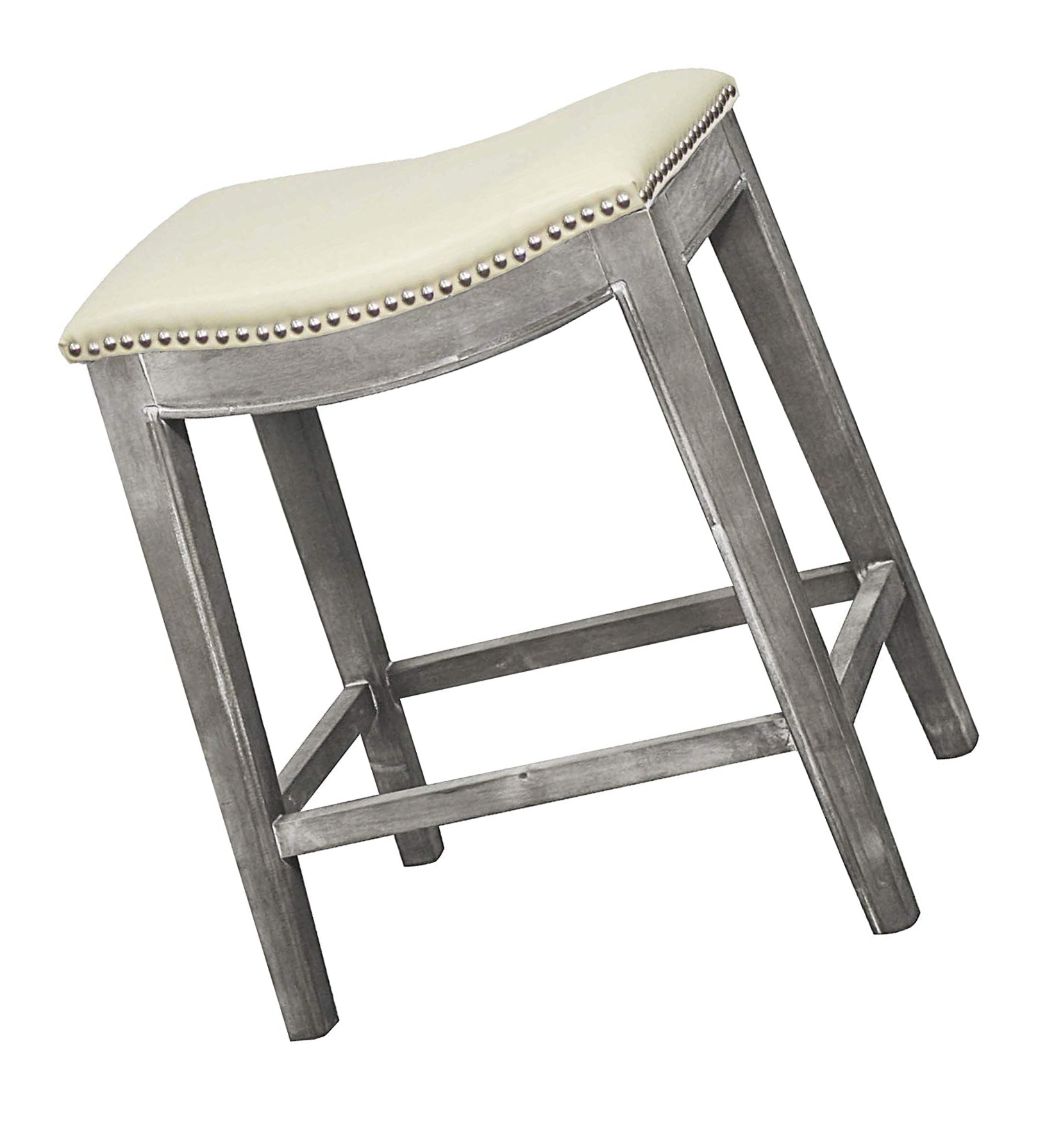 Details About New Pacific Direct 198625b 2050 Elmo Bonded Leather Counter Stool Furniture Bei