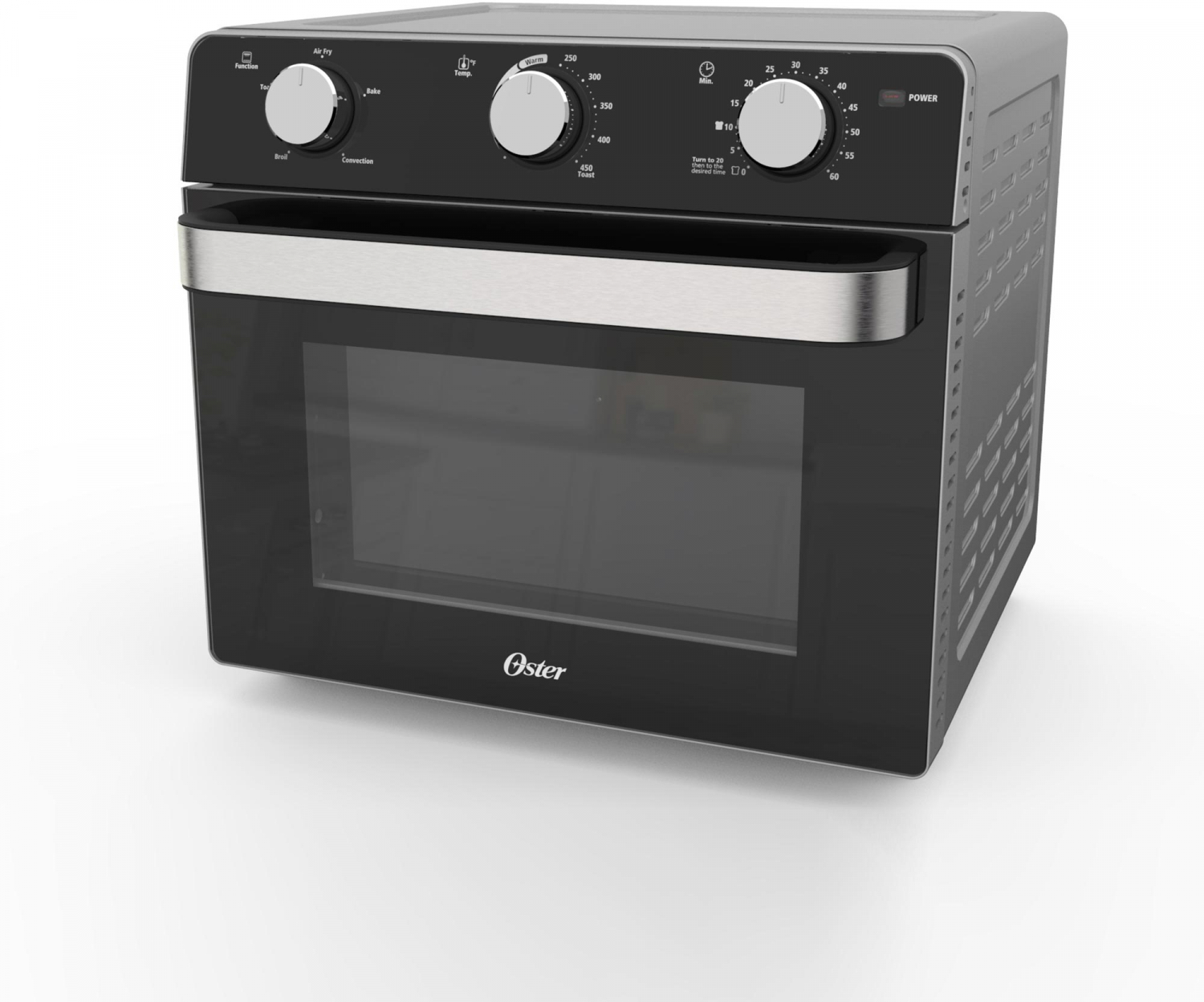 Oster Black Countertop Toaster Oven with Air Fryer, 1 Each ...
