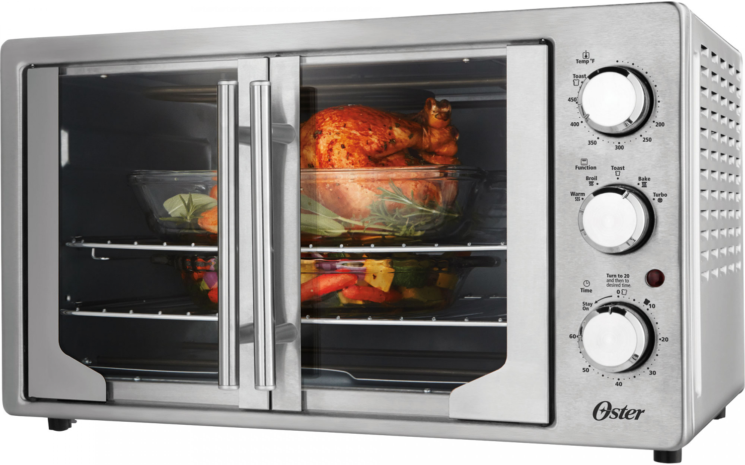 Oster XL French Door Convection Toaster Oven | eBay