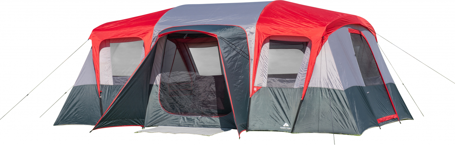Ozark Trail Hazel Creek 16 Person Family Spacious Outdoor Cabin House Tent Camp