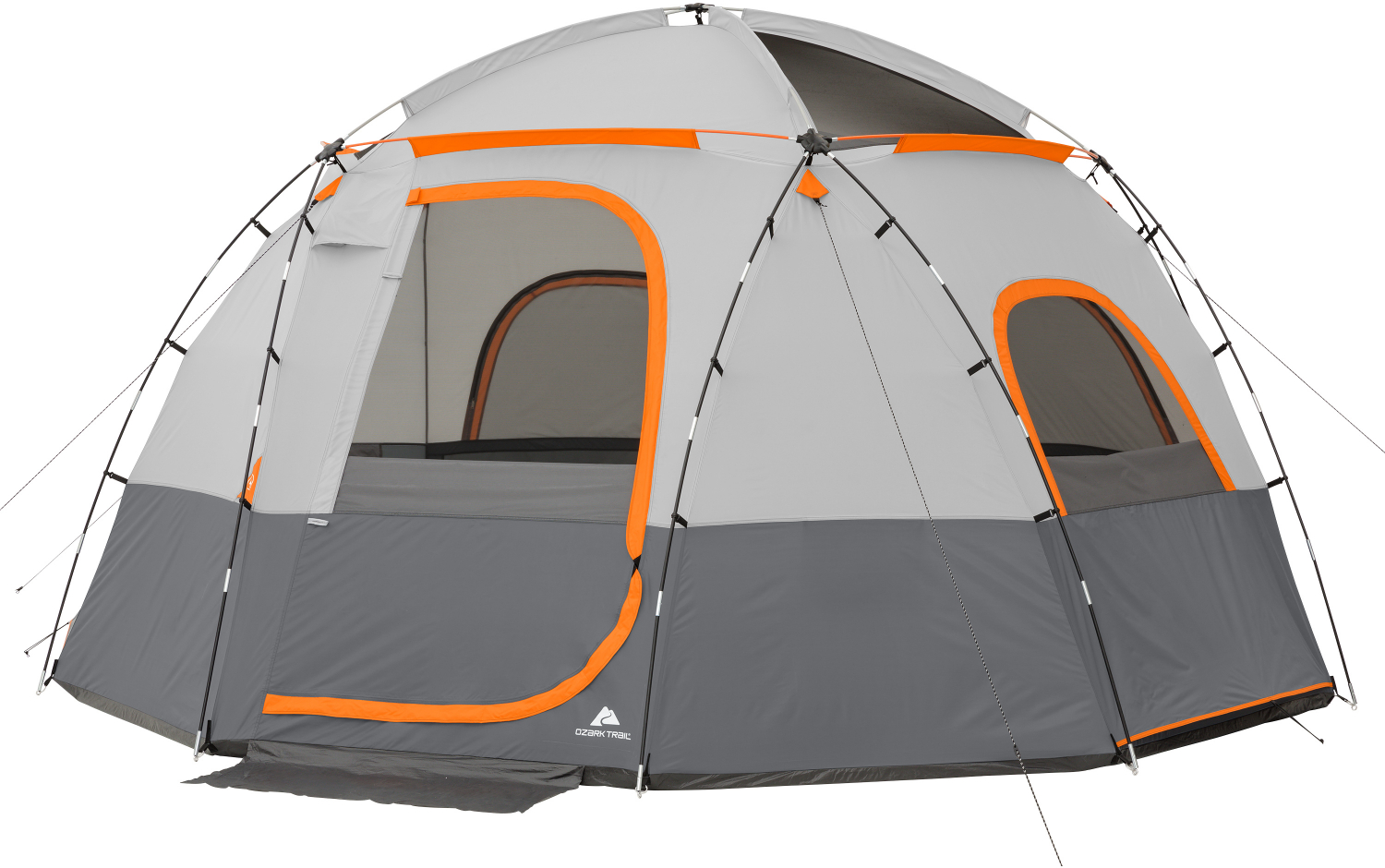 6-Person Ozark Trail Camping Sphere Tent With Rope Light ...