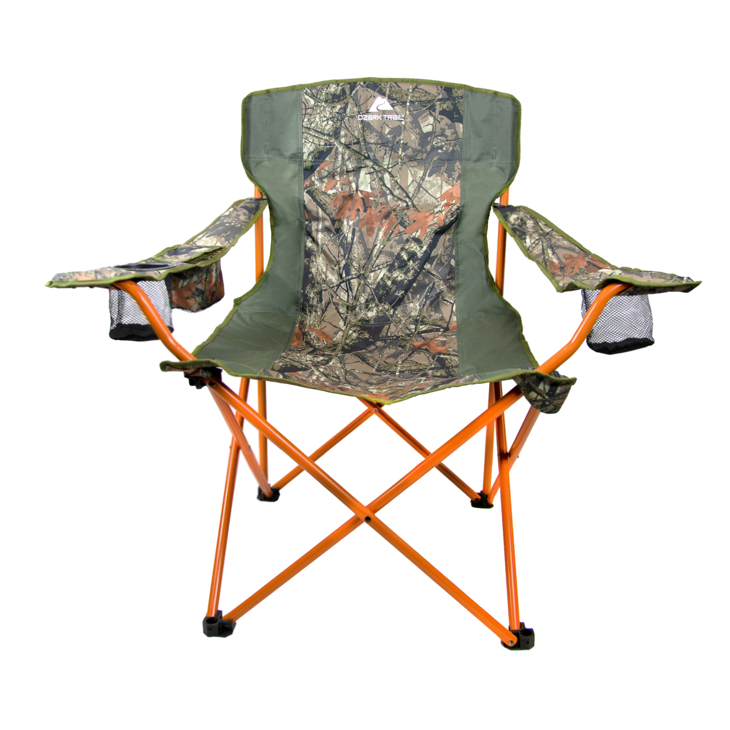 Enjoyable Details About Camouflage Ozark Trail Oversized Tailgate Quad Folding Camp Chair Pdpeps Interior Chair Design Pdpepsorg