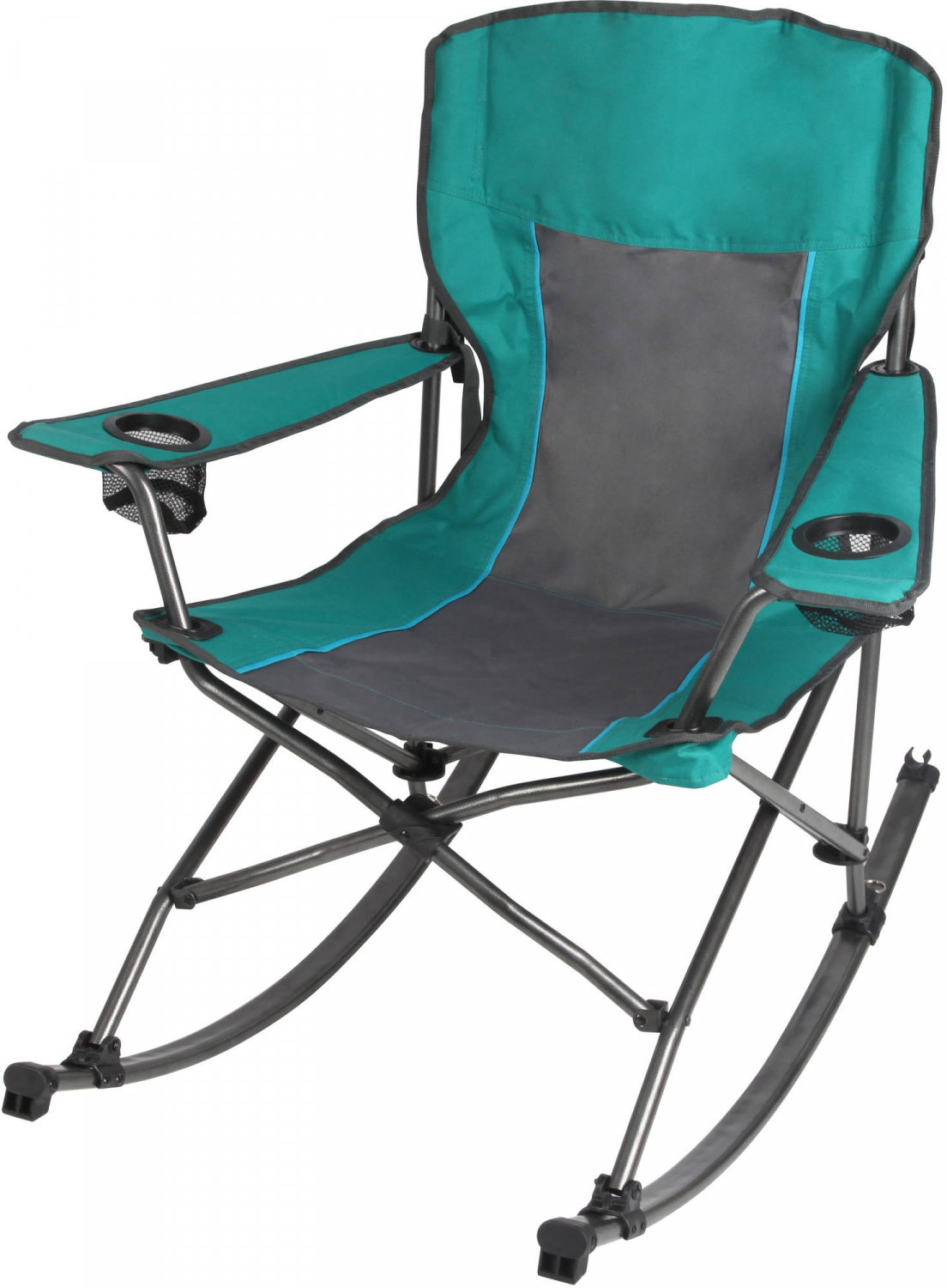 Amazing Details About Folding Camping Rocking Chair With 2 Cup Holders Ozark Trail Fireside Inzonedesignstudio Interior Chair Design Inzonedesignstudiocom