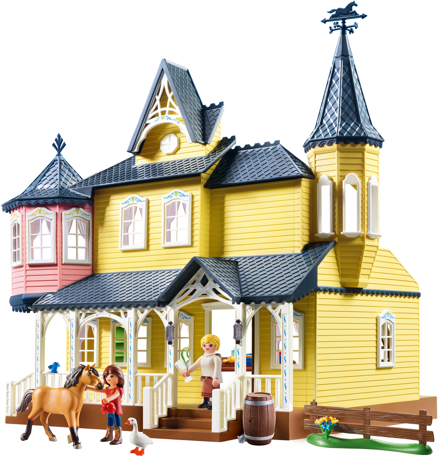 PLAYMOBIL Spirit Riding Free Lucky/'s Happy Home