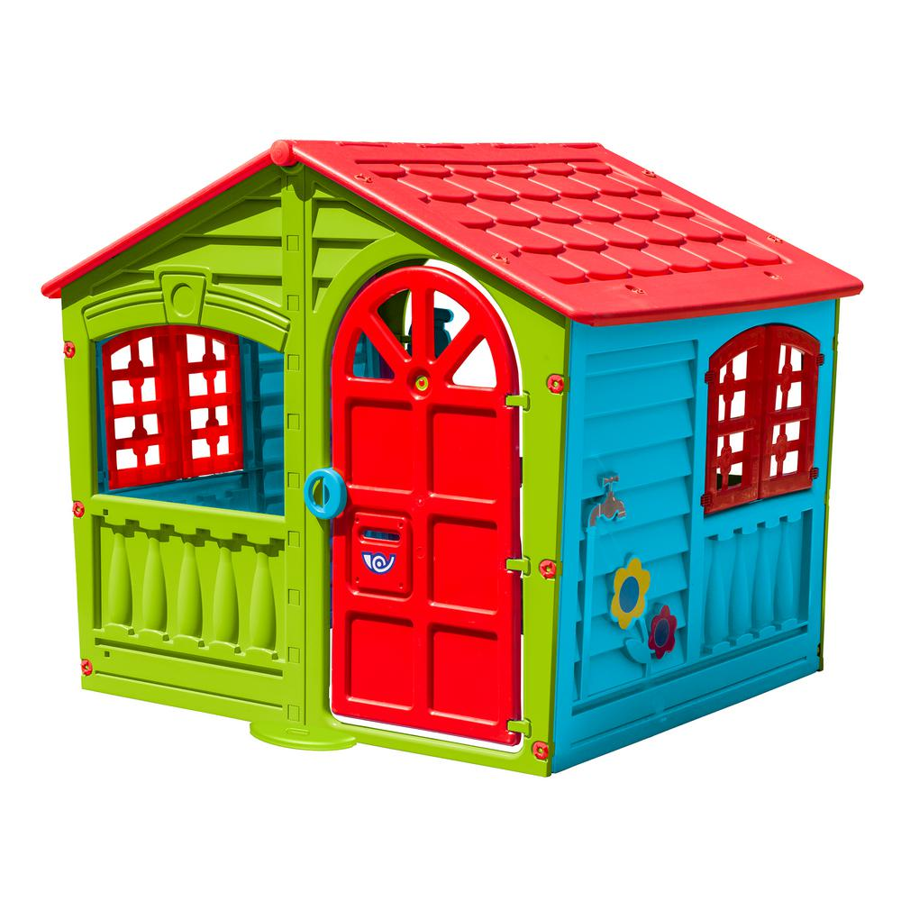 Childrens Play House Indoor Outdoor Backyard Playhouse ...