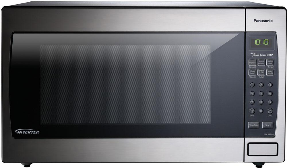 Panasonic 2 Cu Ft Countertop Microwave Oven In Stainless Steel Built Capable With Sensor Cooking Technology