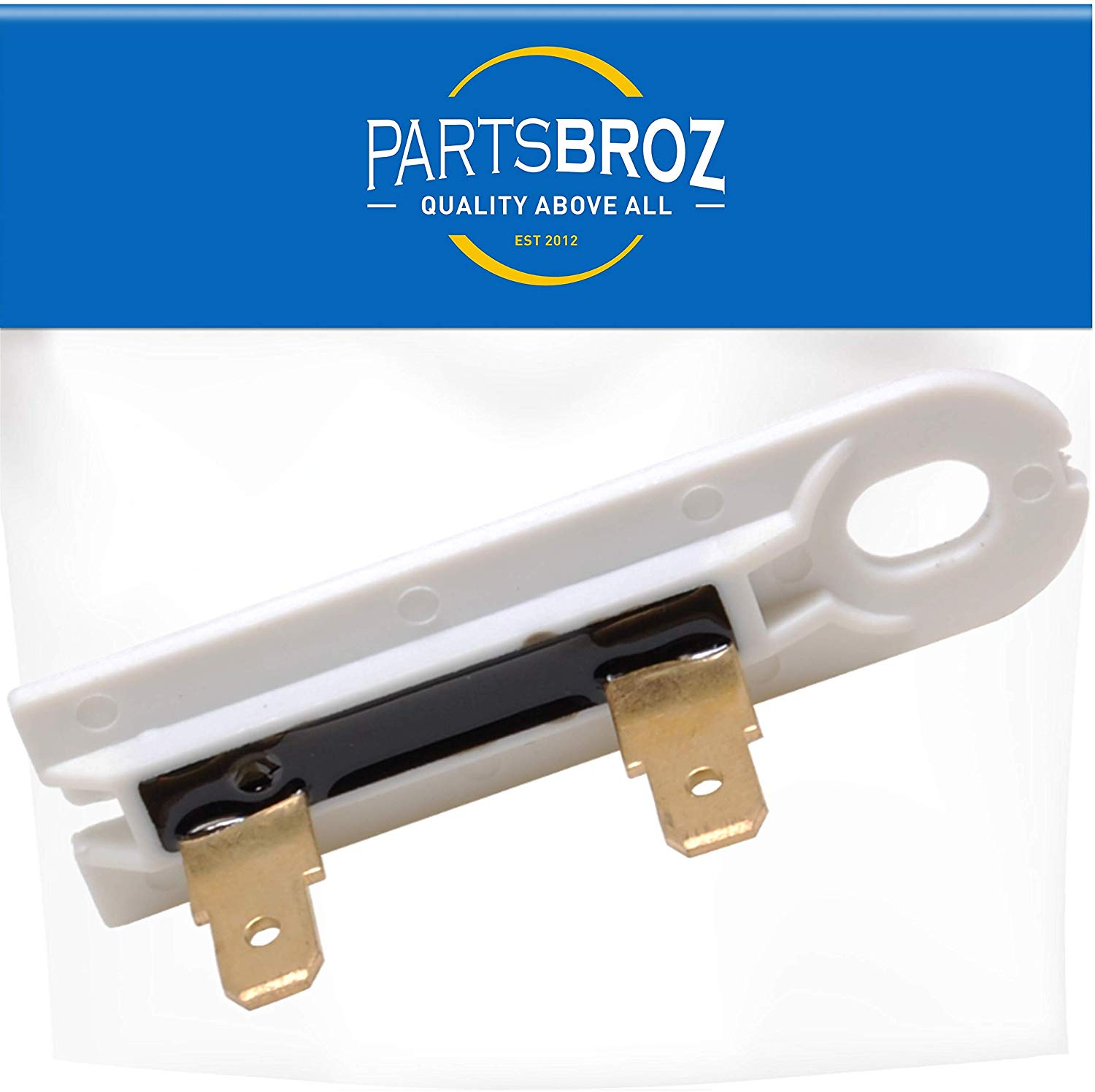 Official Parts Wholesale 80005 Replaces Part Numbers WP3392519 694511 AP6008325 PS11741460 Single 3388651 WP3392519VP ET401 PartsBroz 3392519 Dryer Thermal Fuse Replacement part for Whirlpool /& Kenmore Dryers