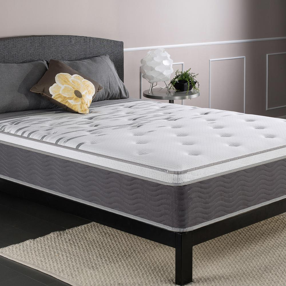 Bed Mattress Queen Size Extra Firm Support Innerspring ...