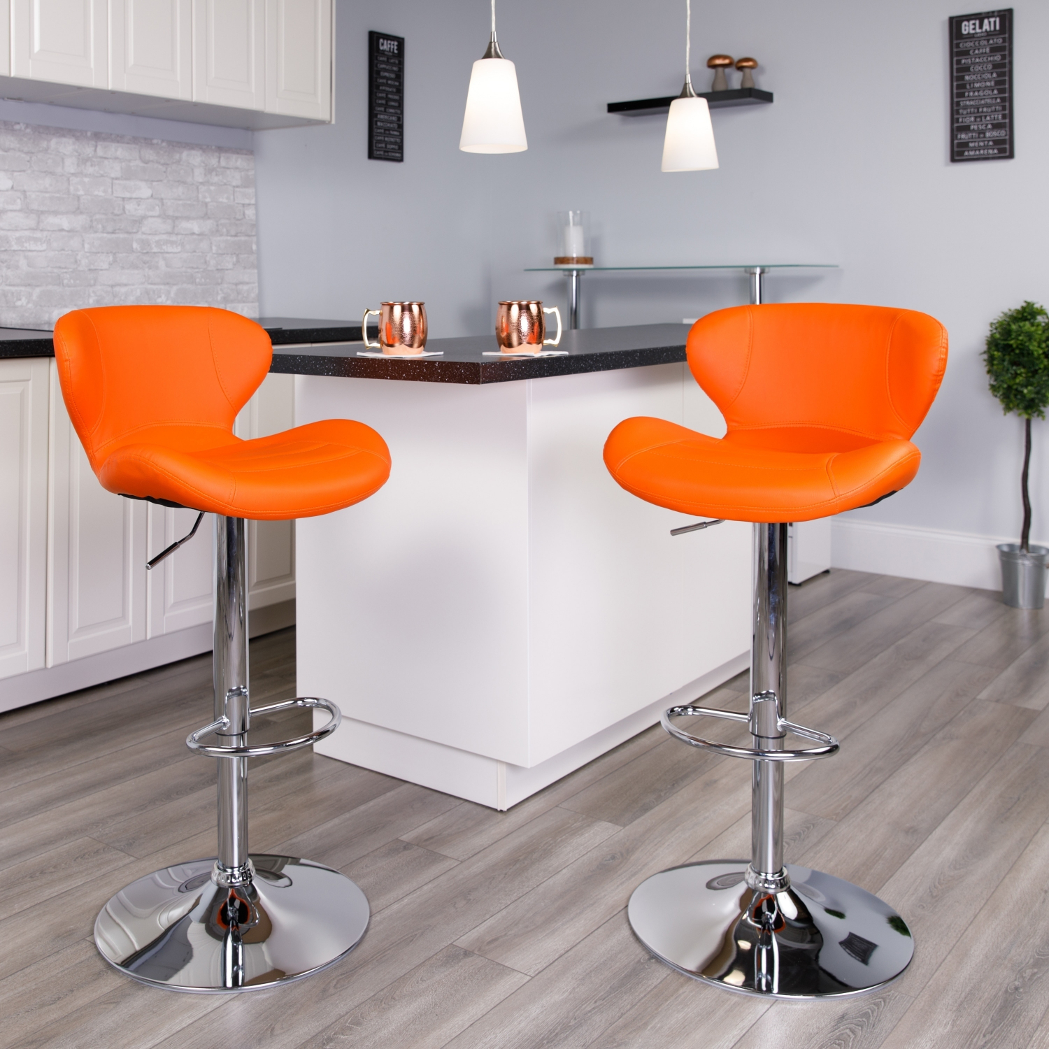 Sensational Details About Adjustable Height Bar Stool Base Modern Contemporary Foot Rest Chrome Chair Gmtry Best Dining Table And Chair Ideas Images Gmtryco