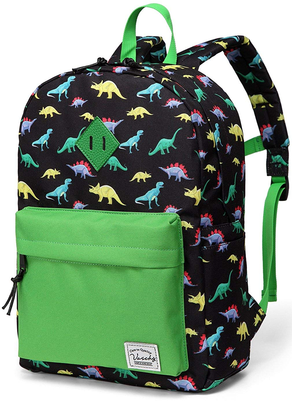 Details about Preschool Backpack,Vaschy Little Kid Backpacks for Boys with  Chest Strap Cute