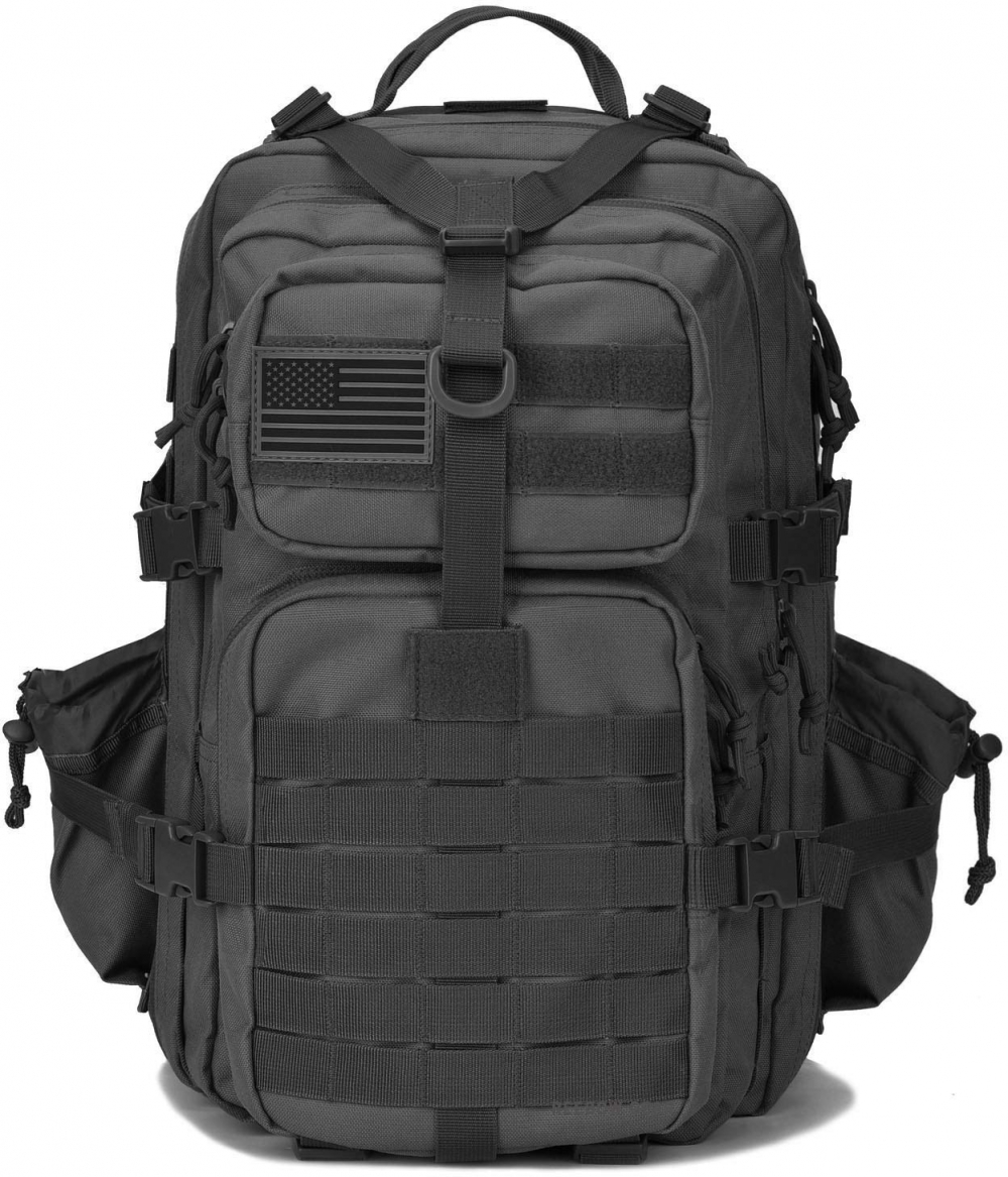 0c5ec03024 Details about REEBOW GEAR Military Tactical Backpack w Bottle Holder