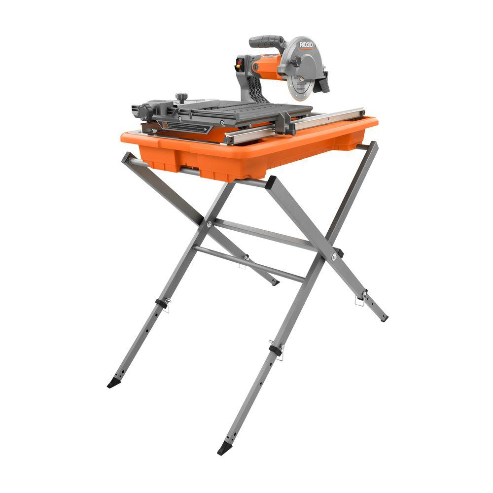 Tile Wet Saw W Stand 7 In Cast Aluminum Table