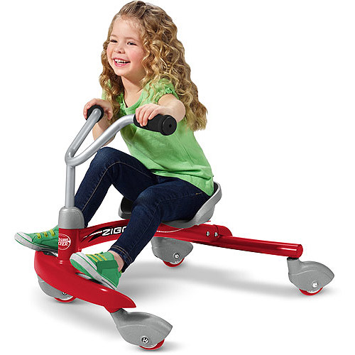 thumbnail 22 - Radio-Flyer-Ziggle-Caster-Ride-on-For-Kids-360-Degree-Spins-Red-Pink-Boys-Girls