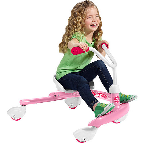 thumbnail 18 - Radio-Flyer-Ziggle-Caster-Ride-on-For-Kids-360-Degree-Spins-Red-Pink-Boys-Girls