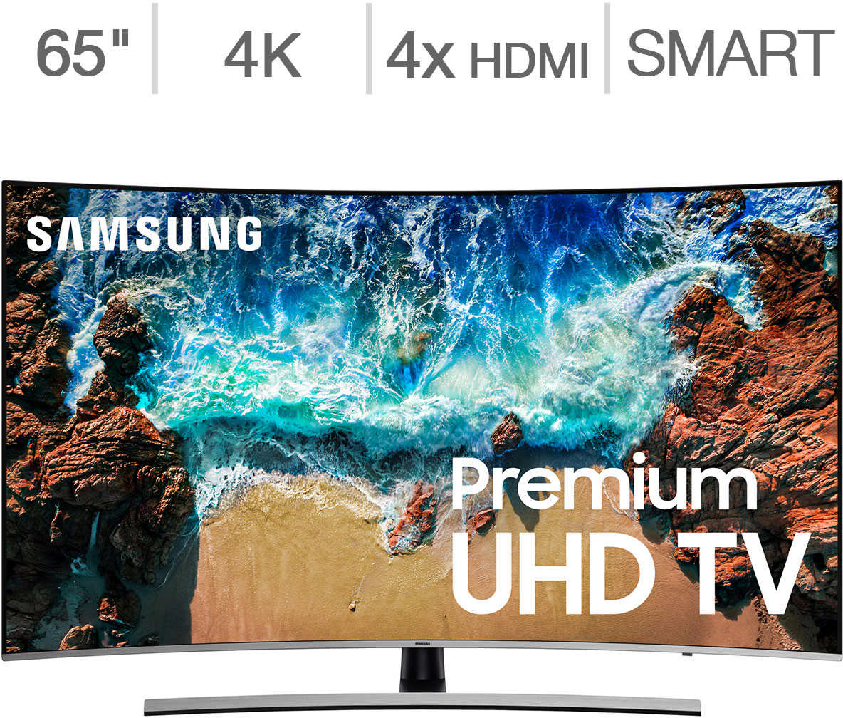 Details about Samsung Curved 65' Class (64 5' Diag ) HDR 4K UHD LED LCD TV