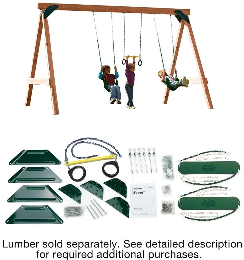 Details About Scout Swing Set Hardware Kit