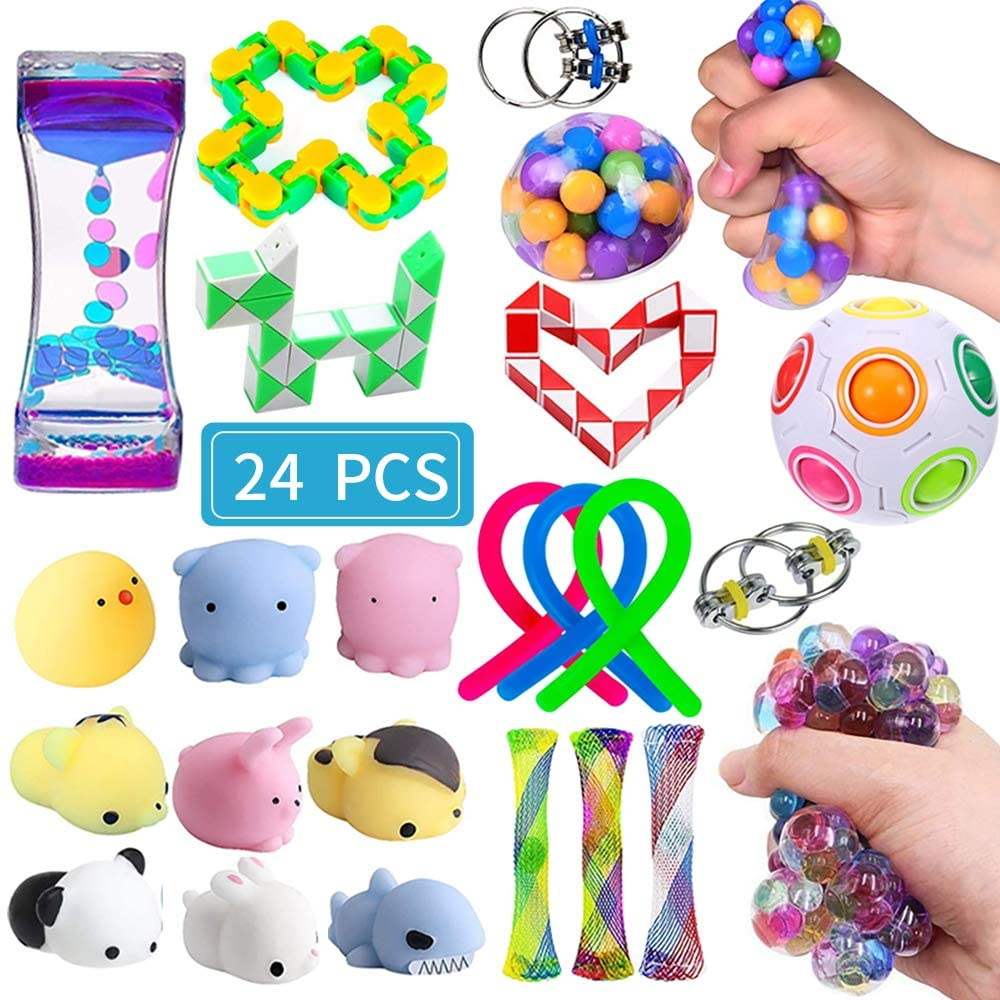Sensory Fidget Toys Set 24 Pack Stress Relief and Anti ...