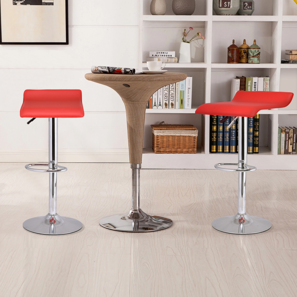 Admirable Details About Set Of 2 Modern Bar Stools Dinning Counter Chairs Durable Wear Resistant Gmtry Best Dining Table And Chair Ideas Images Gmtryco