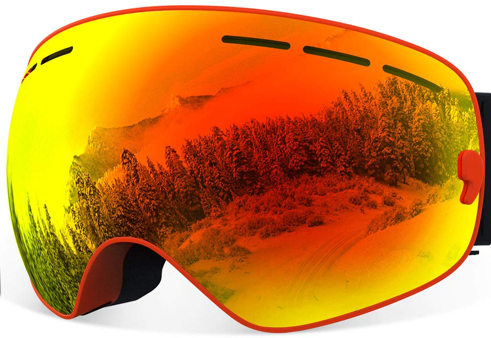 b78656f75302 Features. Over Glasses Ski Goggles for Men   Women ...